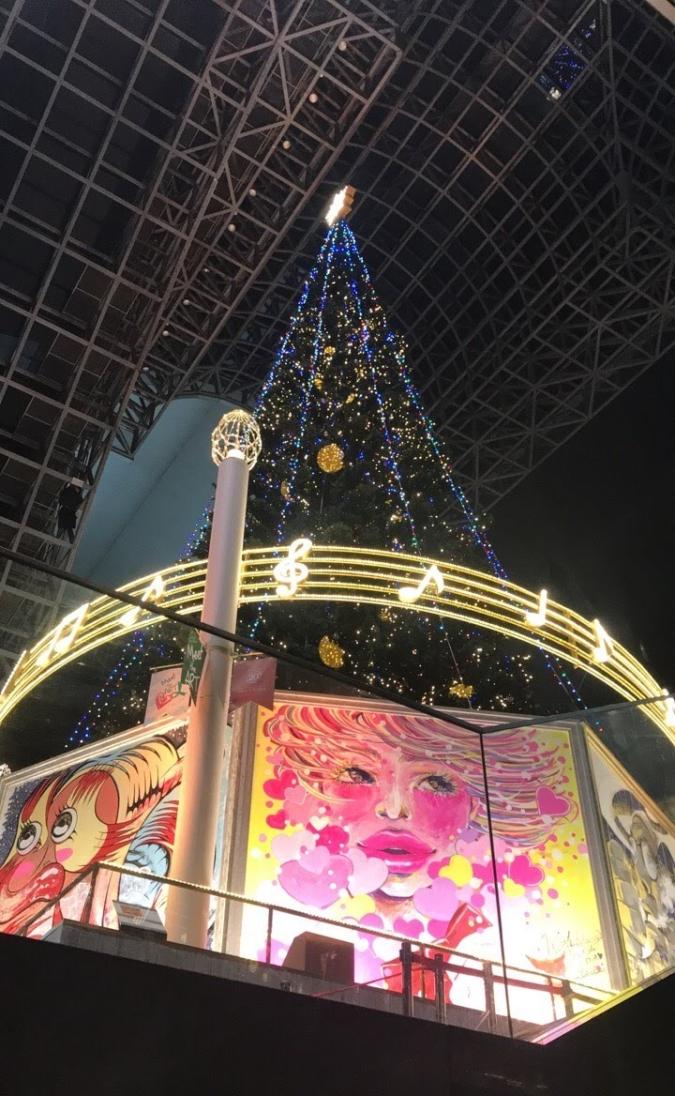 京都車站聖誕樹