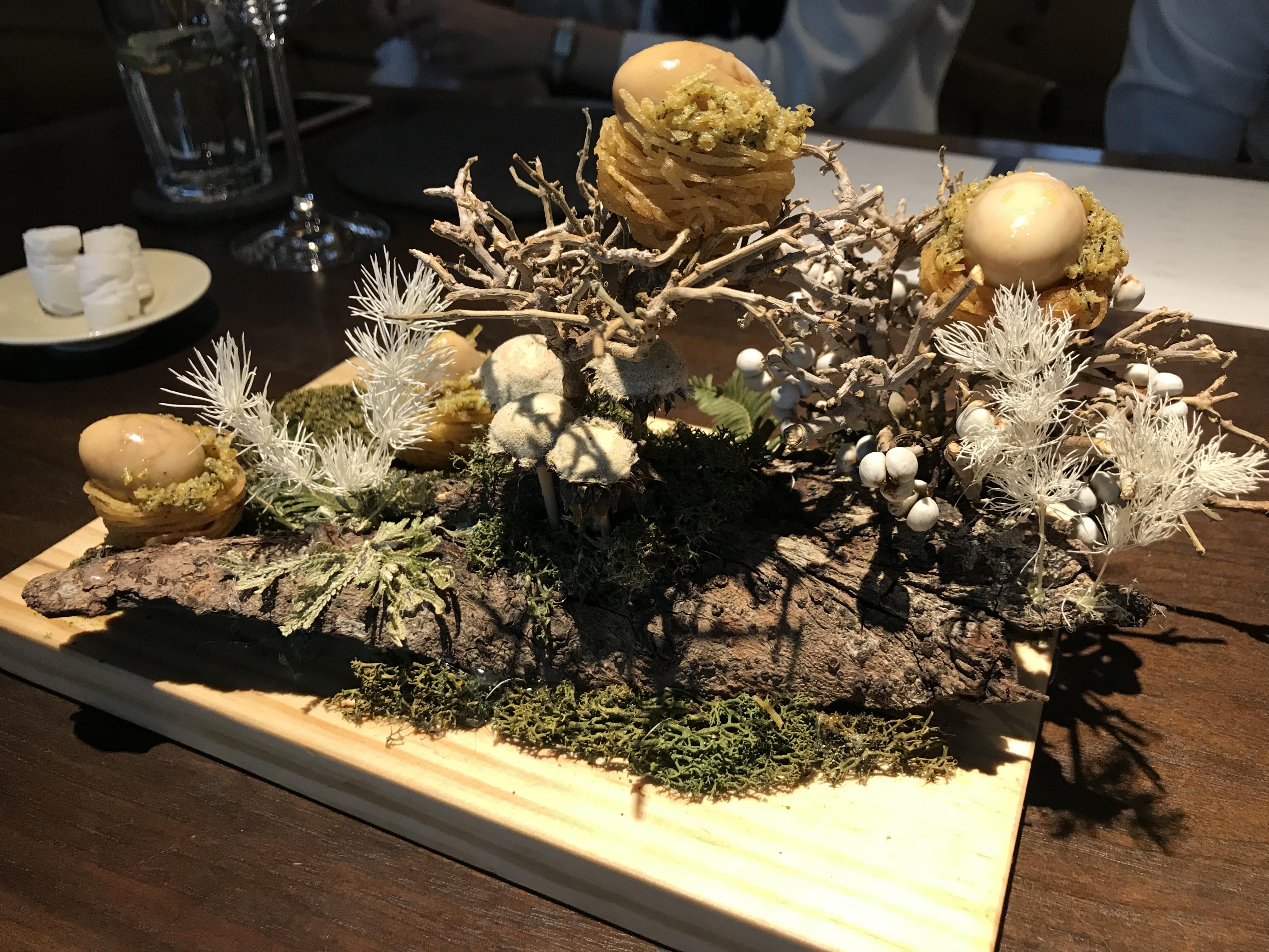 伯爵茶、月桂葉、鵪鶉鳥蛋